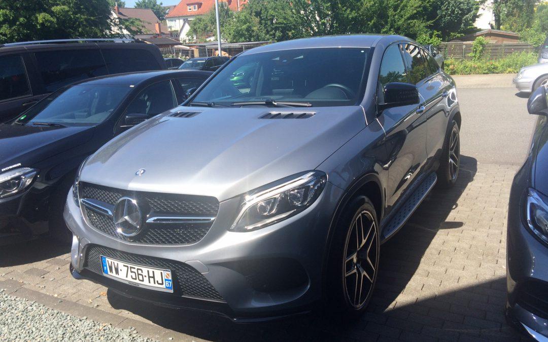Mercedes GLE 400 Coupé – 2015 – 9 417 km