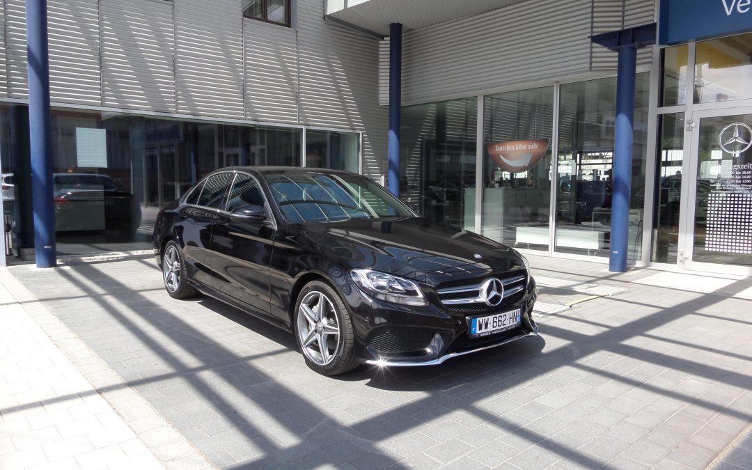 Mercedes Classe C 220D Pack AMG – 2015 – 11 852 km
