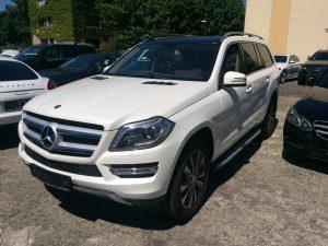 Mercedes GL 450 blanc allemagne