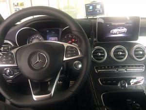 Mercedes Classe C220 Coupé - intérieur