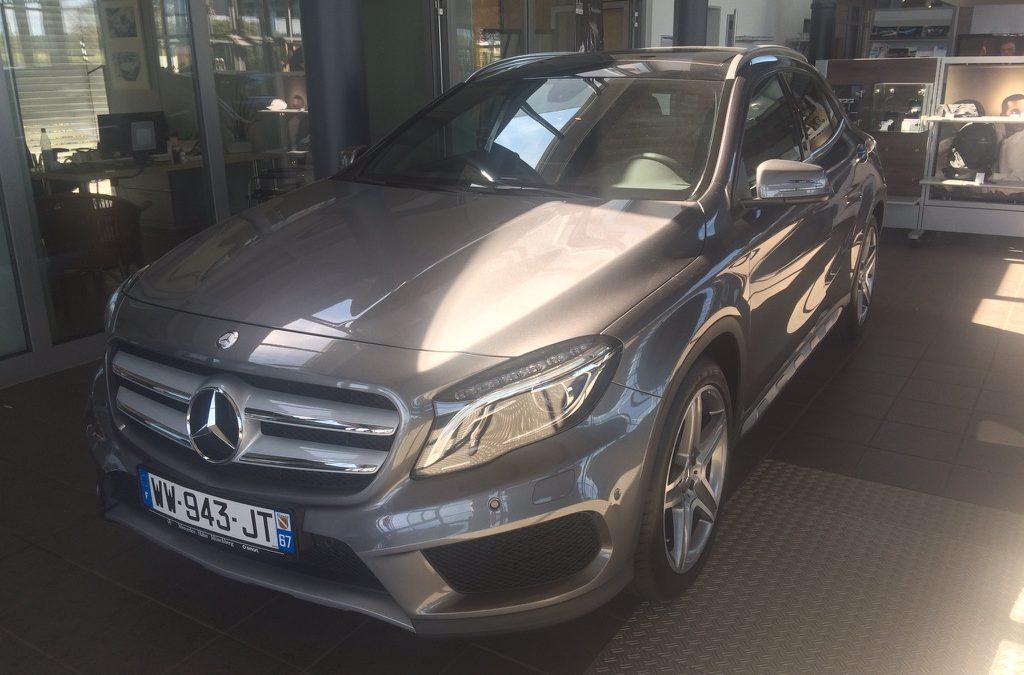 Mercedes Benz GLA 200 – 20515 – 7 089 km