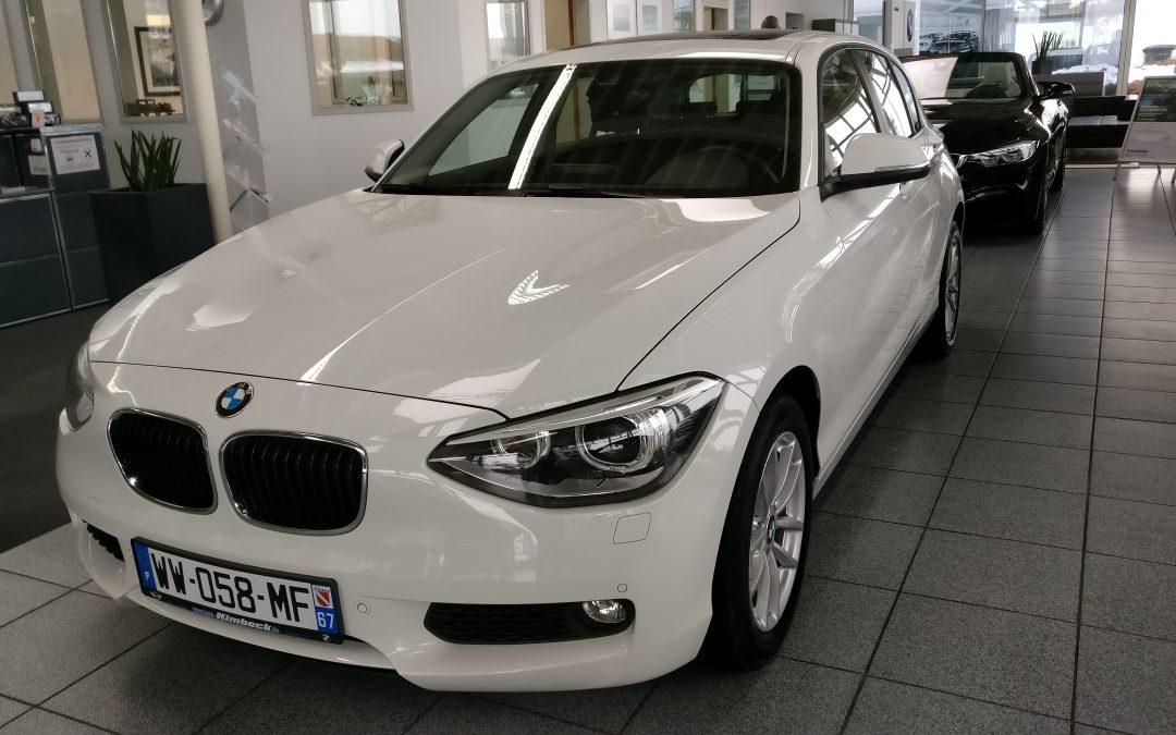 BMW 118D – 2015 – 20 402 km