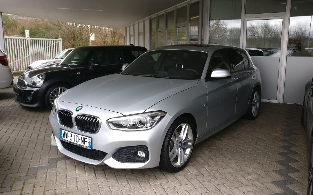 BMW – 118d Pack M –  2016 – 12 670 km