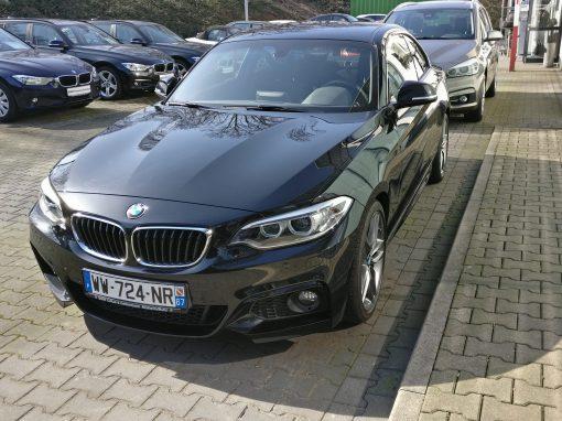 BMW 225 D Coupé – 2016 – 15 943 km