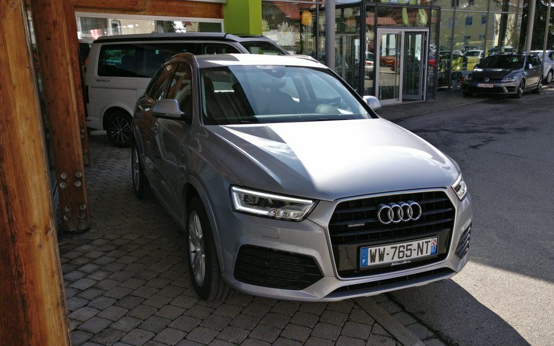 Audi Q3 S line – 2015 – 21 543 km –
