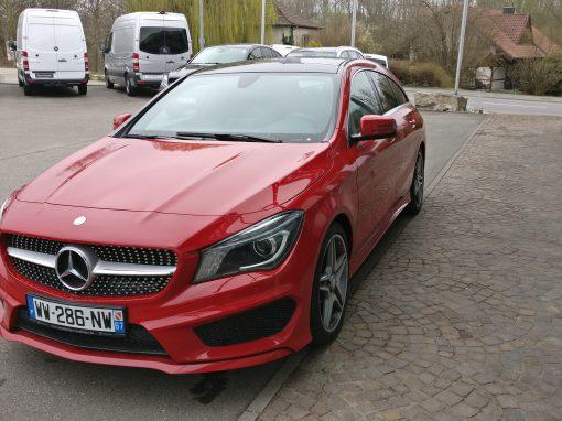 Mercedes-Benz CLA 220 CDI Shooting Brake – 2015 – 36 130 km