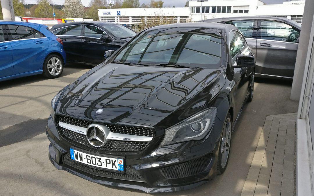 Mercedes-Benz CLA 250 Shooting Brake – 2015 – 9 887 km
