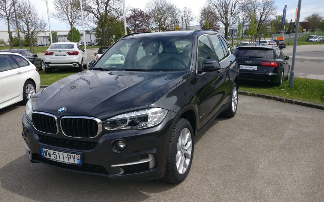 BMW X5 3.0d – 2016 – 9 657 km