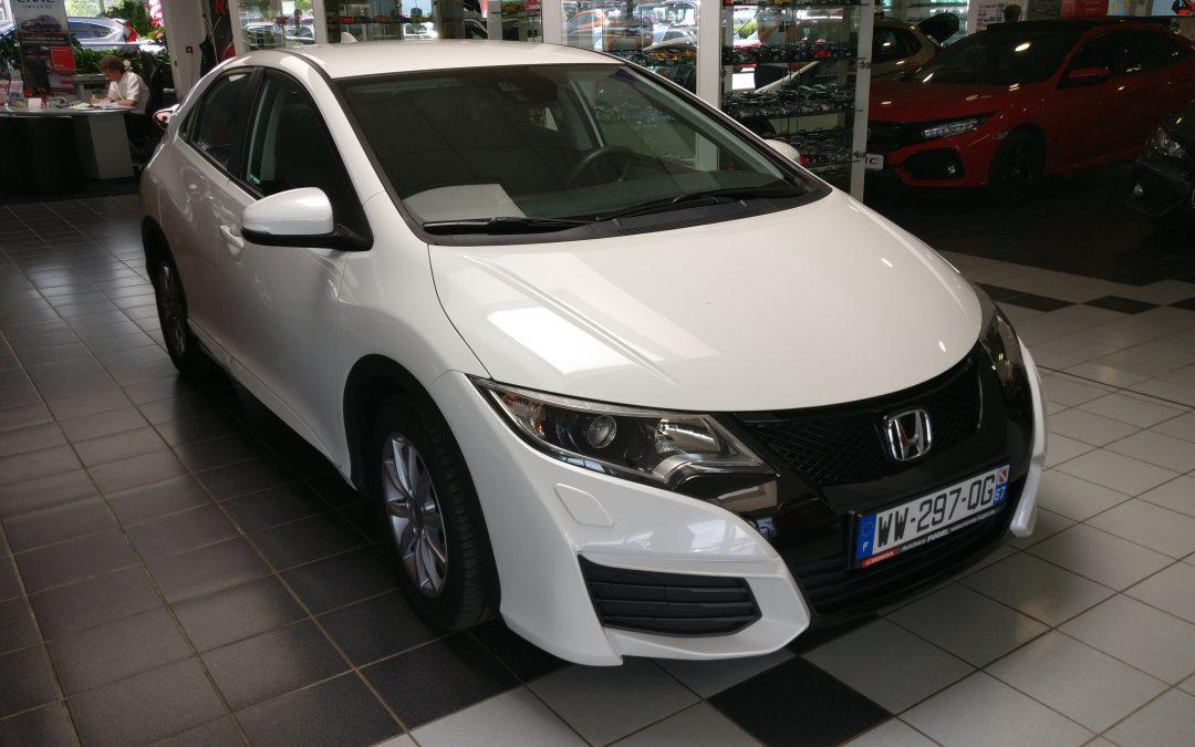 Honda Civic 1,6 i-DTEC – 2016 – 20 000 km