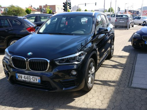 BMW X1 sDrive 18D – 2016 – 15 595 km