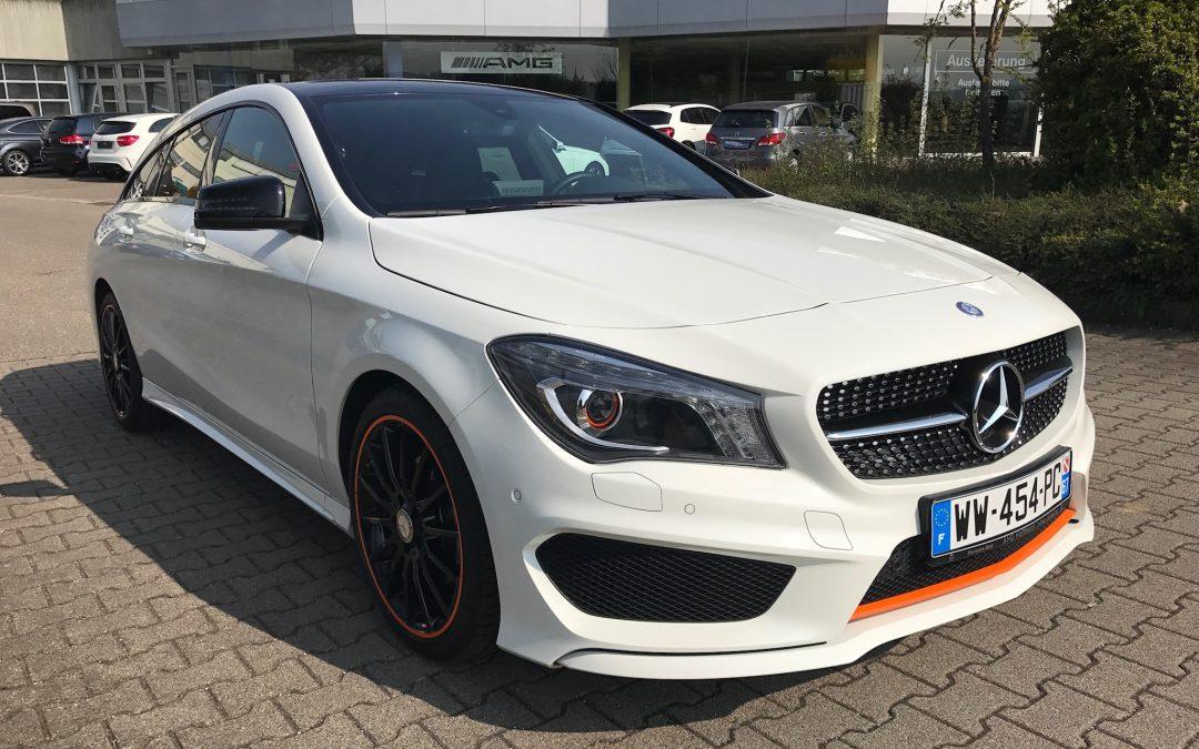 Mercedes-Benz CLA 200 Shooting Brake Orange Art – 2015 – 7 300 km