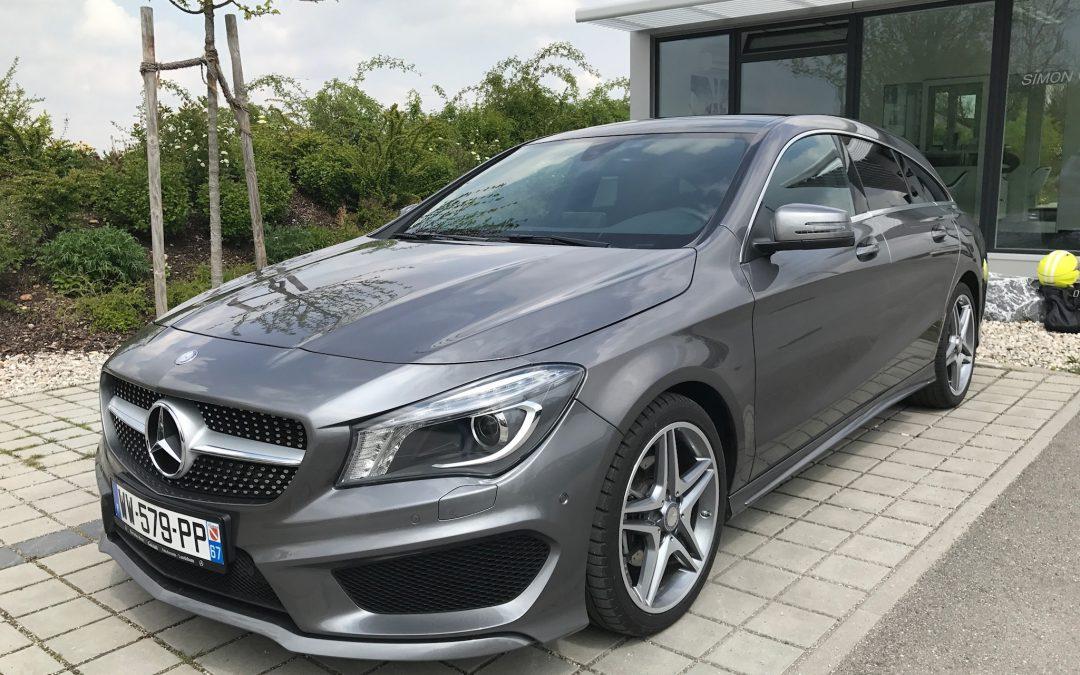 Mercedes-Benz CLA 200D Shooting Brake – 2016 – 18 547 km