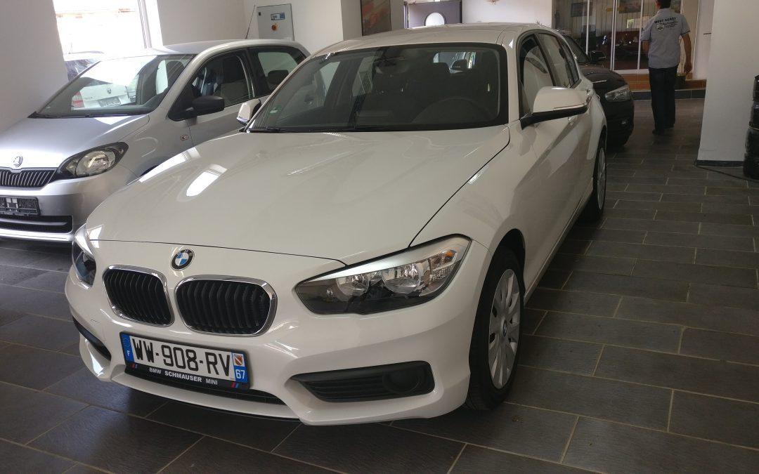 BMW 116i – 2015 – 19 312 km
